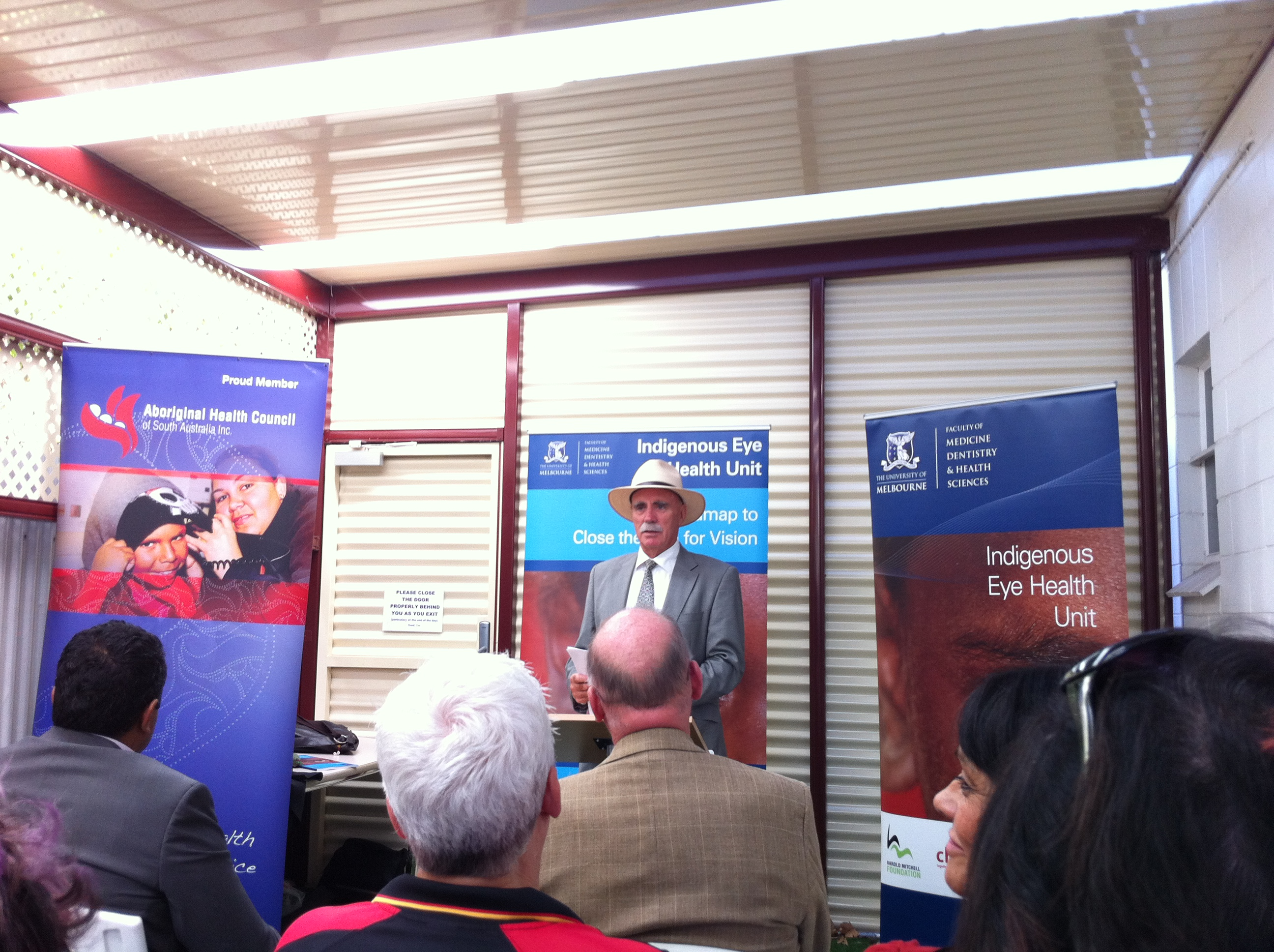 The Hon Warren Snowdon MP launches the roadmap.