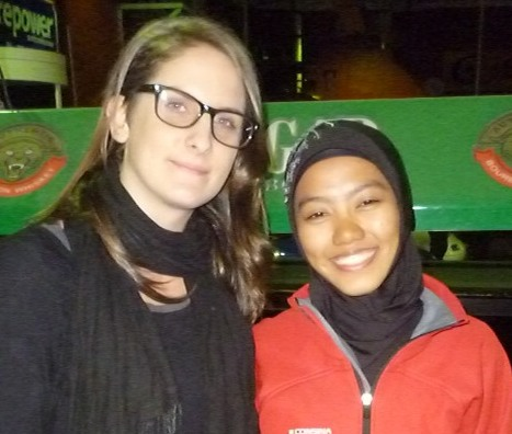 Acut's visit as part of the Australia Indonesia Youth Exchange Program