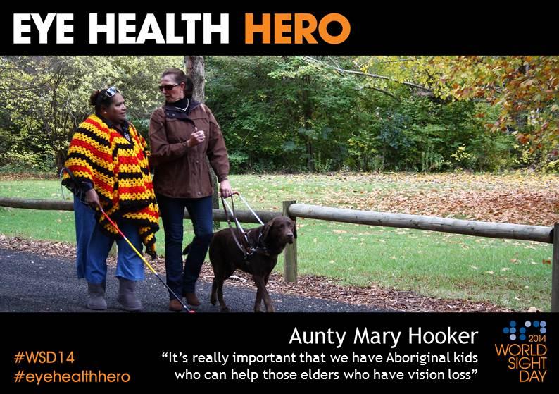 Aunty Mary Hooker Eye Health Hero