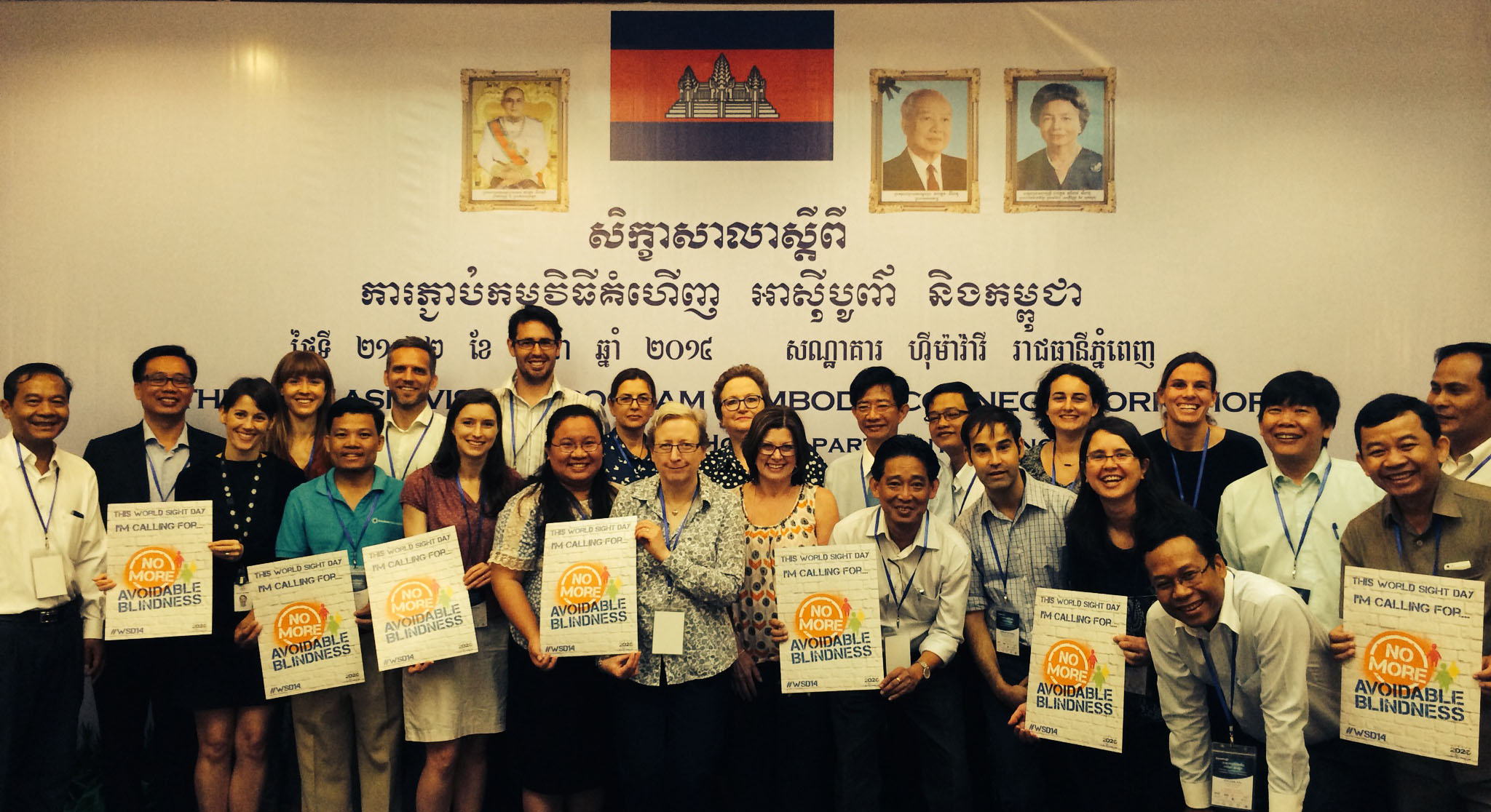 Participants of the Cambodia Connect workshop