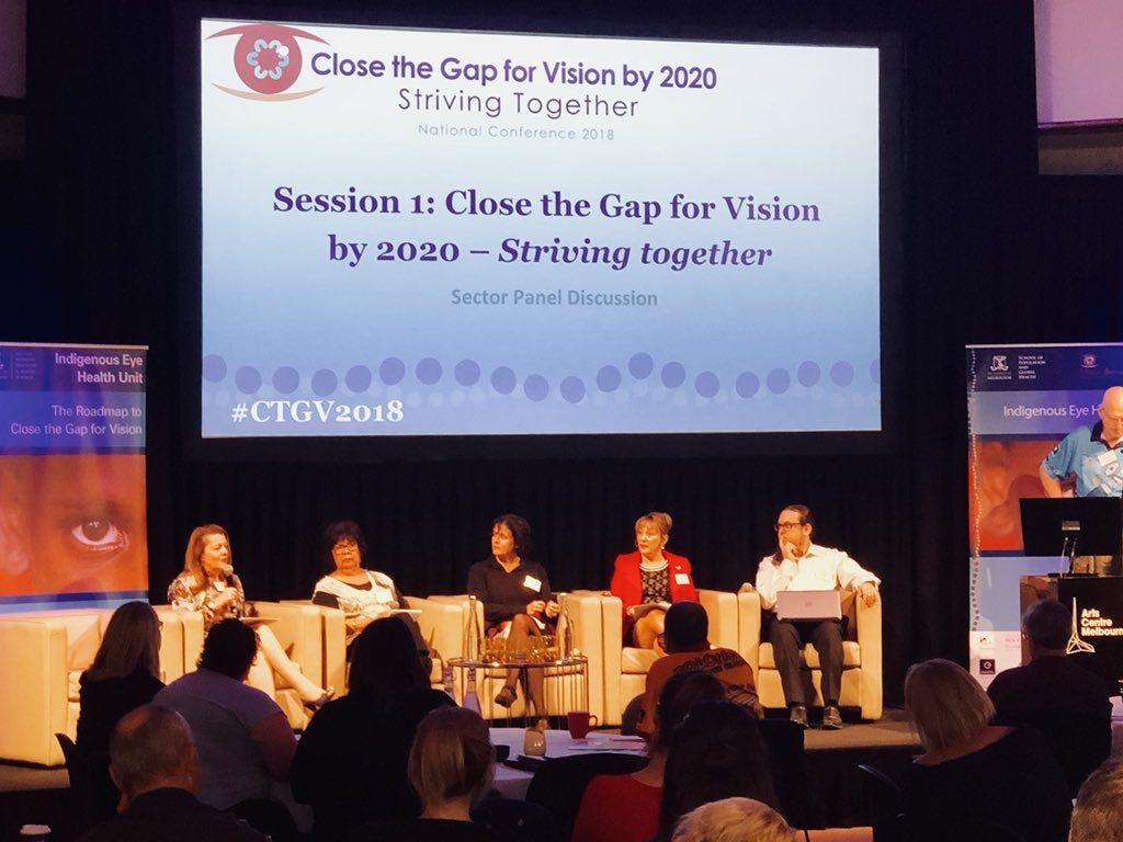 Aboriginal-led solutions key to closing the vision gap
