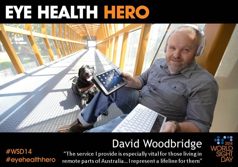 Eye Health Hero David Woodbridge
