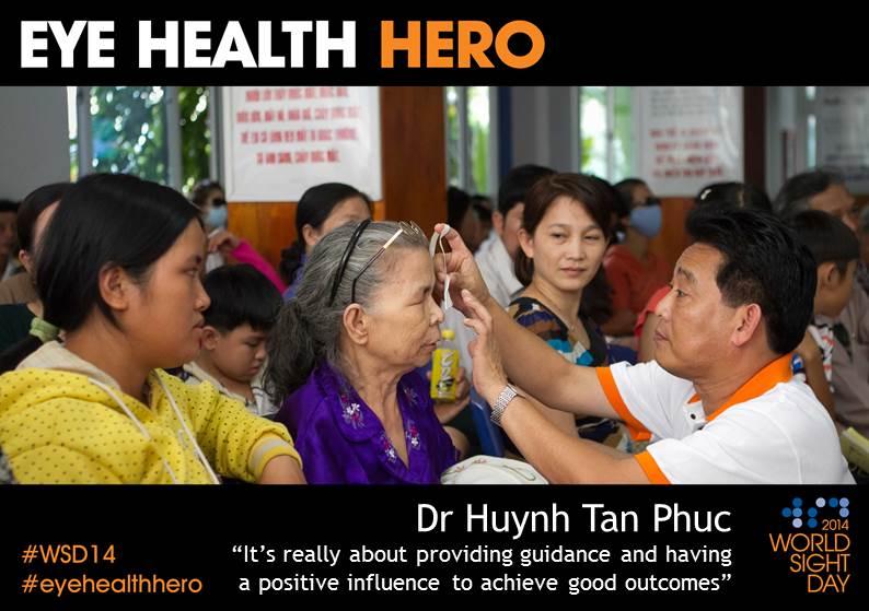 Eye Health Hero Dr Phuc