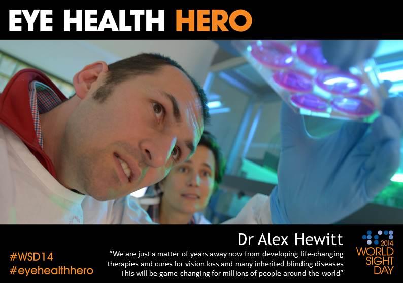 Eye Health Hero Dr Alex Hewitt