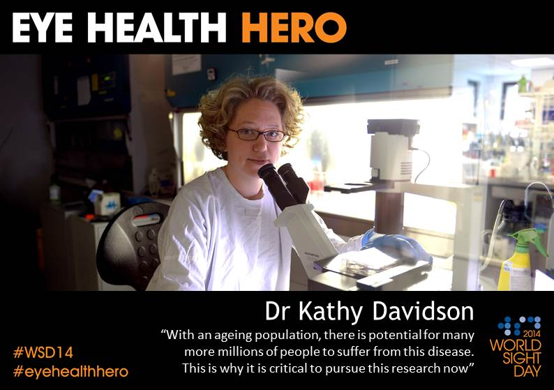 Eye Health Hero Dr Kathy Davidson