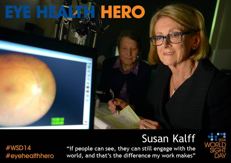 Eye Health Hero Susan Kalff
