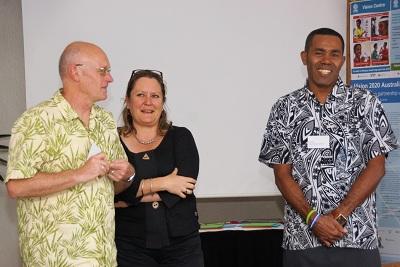 Tim Ford, Rhonda Chapman and Paulo Baleinakorodawa_Pacific Workshop 2012