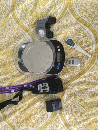 Some of the gadgets Sarah Hocking uses