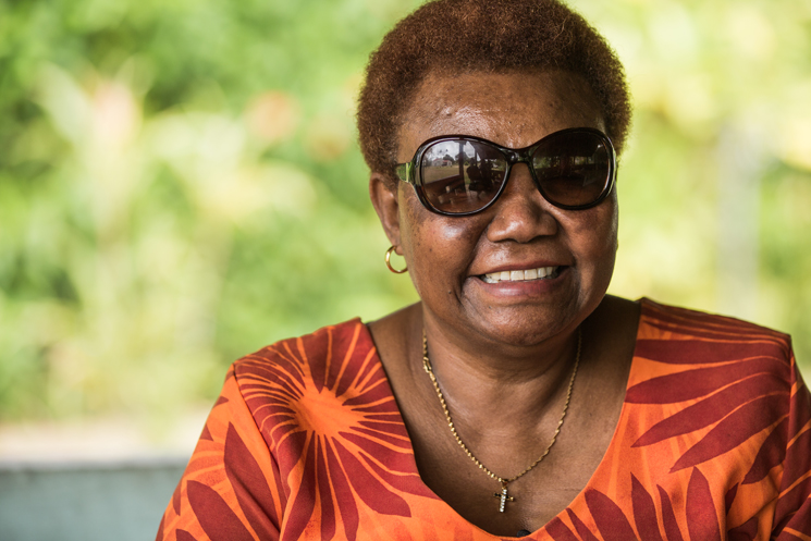 Nelly, the National Coordinator of Vanuatu Disability Promotion and Advocacy Association (VDPA) ©Erin Johnson/CBM Australia