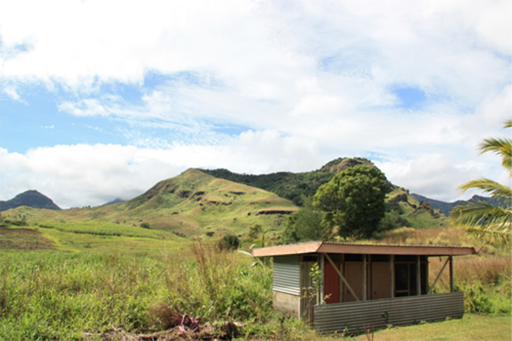 One of the first survey areas about 40kms out from the main township Labasa.