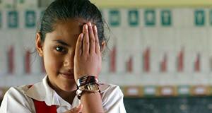 Global vision loss gender gap remains