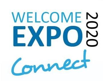 Welcome expo logo