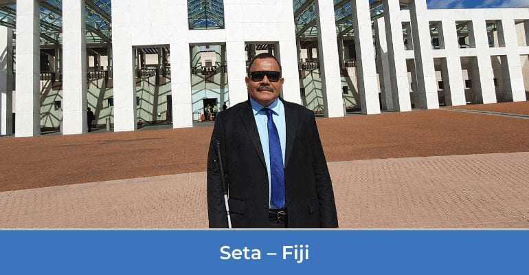 CBM Australia Stories of Hope: Seta from Fiji