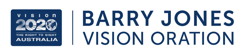 Barry Jones Vision Oration logo